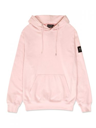 NICCE MENS PATCH HOOD PINK