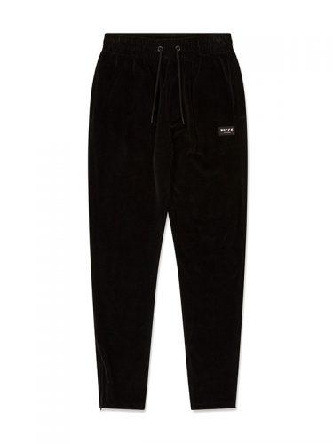 NICCE MENS - VELOUR JOGGERS - BLACK