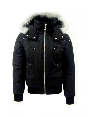 Moose Knuckles Ballistic Bomber Black