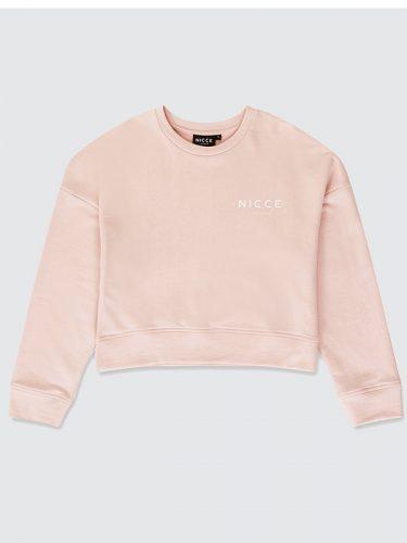 NICCE London Mini Oval Sweater Pink