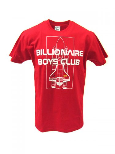 Billionaire Boys Club Shuttle One SS Tee Red