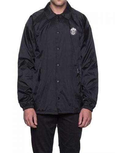 HUF Thrasher TDS Coach's Jacket Black
