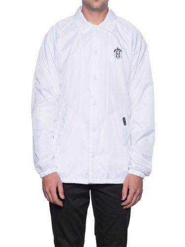 HUF Thrasher TDS Coach's Jacket White
