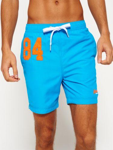 Super Dry Premium Swim Shorts Blue
