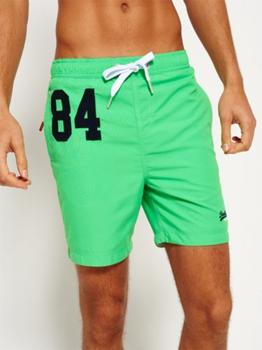 Super Dry Premium Water Polo Shorts Green