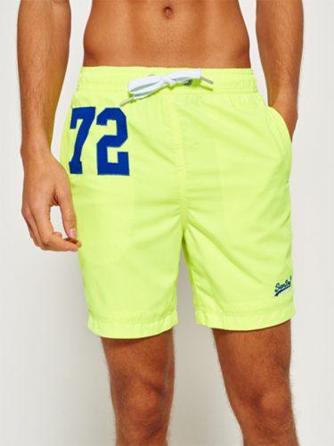 Super Dry Premium Water Polo Shorts Yellow