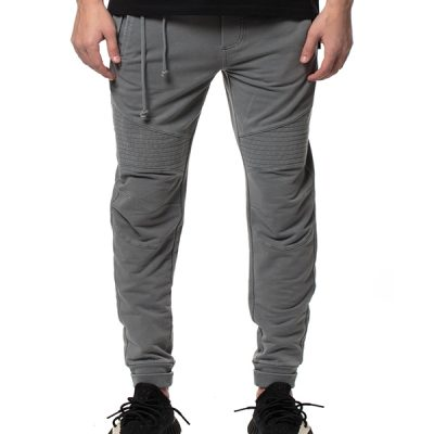 Kuwalla Tee – Moto Sweat Pants – Charcoal