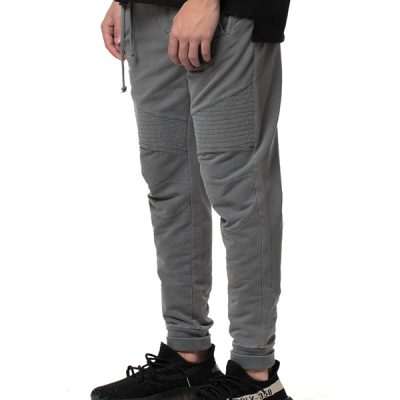 Kuwalla Tee – Moto Sweat Pants – Charcoal