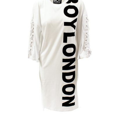 Boy London – T Shirt Dress – White