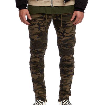 Kuwalla Tee – Biker Zip Trousers – Camo