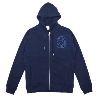 Billionaire Boys Club – Orbit Zip Up Hoodie – Navy