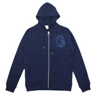 Billionaire Boys Club – Orbit Zip Up Hoodie – Navy