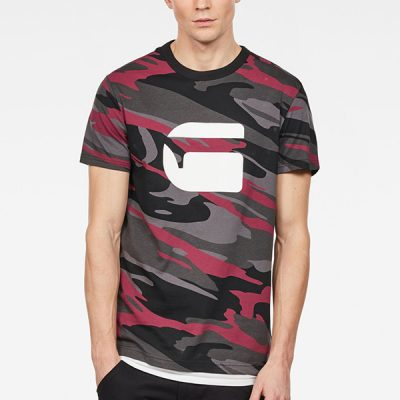 G Star RAW – Zeabel MC Tee – Industrial Rhino