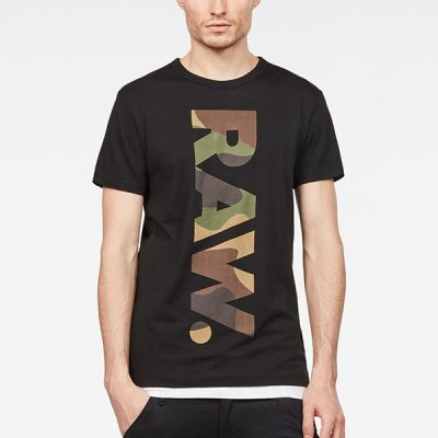 G Star RAW – Daba Regular Tee – Black