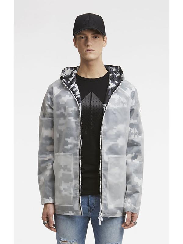 Moose Knuckles Kianuko Rain Jacket Camo Broadway Fashion