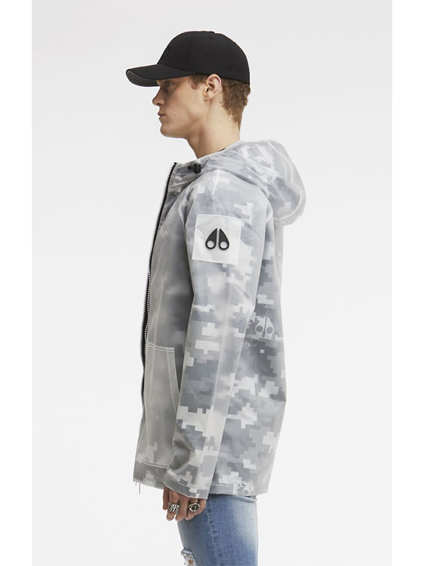 Moose Knuckles Kianuko Rain Jacket Camo Broadway Fashion