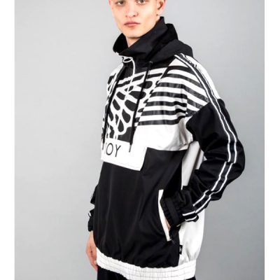 Boy London – Wingspan Anorak – Black/White