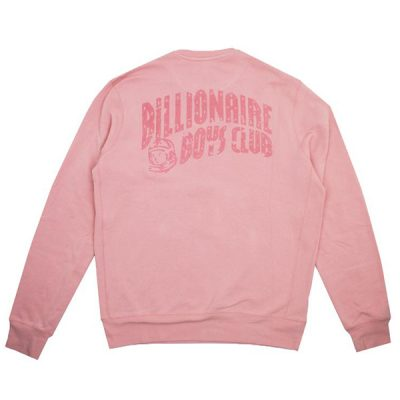 Billionaire Boys Club – Cracked Helmet Crew Neck – Pink