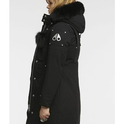 Moose Knuckles – Stirling Parka – Black w/ Black Fur