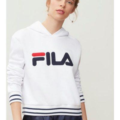 Fila – rosemary hoodie – white