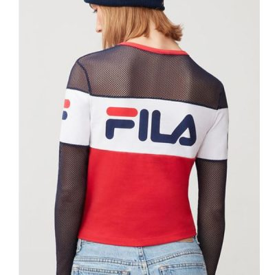 fila – tara crop – red