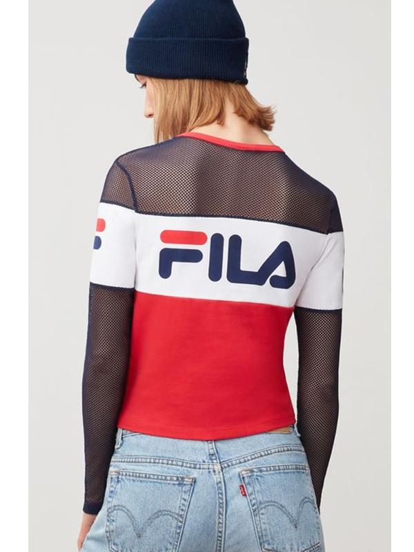 fila - tara crop - red - Broadway Fashion d4411379a