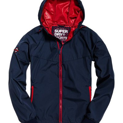 Super Dry – Echo Beach Cagoule – Navy