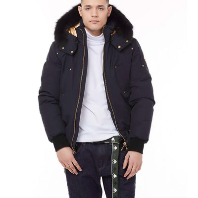 Moose Knuckles – Gold Bomber – Navy