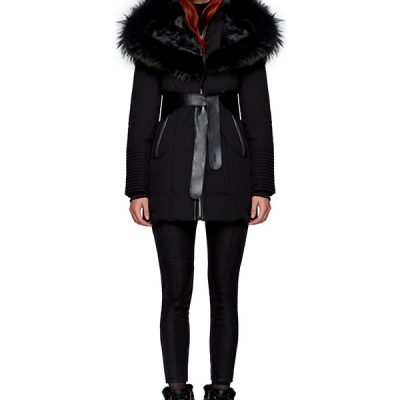 Rudsak – Moda Down-Filled Parka – Black/ Black Fur