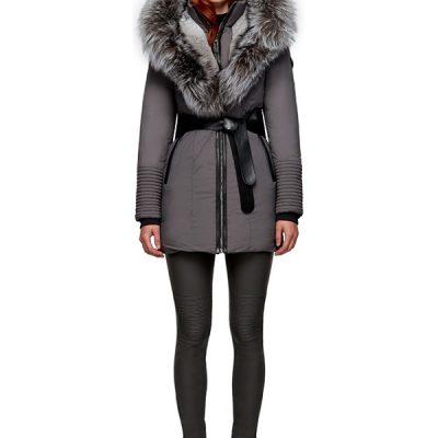 Rudsak – Moda Down-Filled Parka – Grey/ Grey Fur
