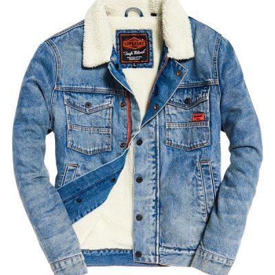 Super Dry – Hacienda Denim Jacket – Vintage
