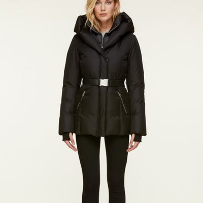 Soia & Kyo – Tallia Down coat – Black