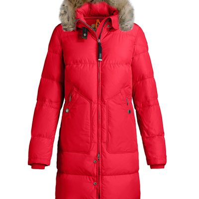 Parajumpers – Long Bear Lt Down-filled Parka – Chilli (Red)