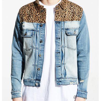 Embellish NYC – Hunt Denim Jacket – Blue