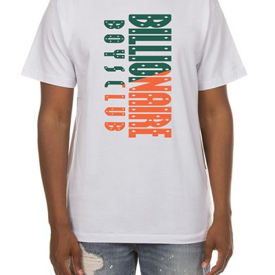 Billionaire Boys Club – BB Split classic SS Tee – White