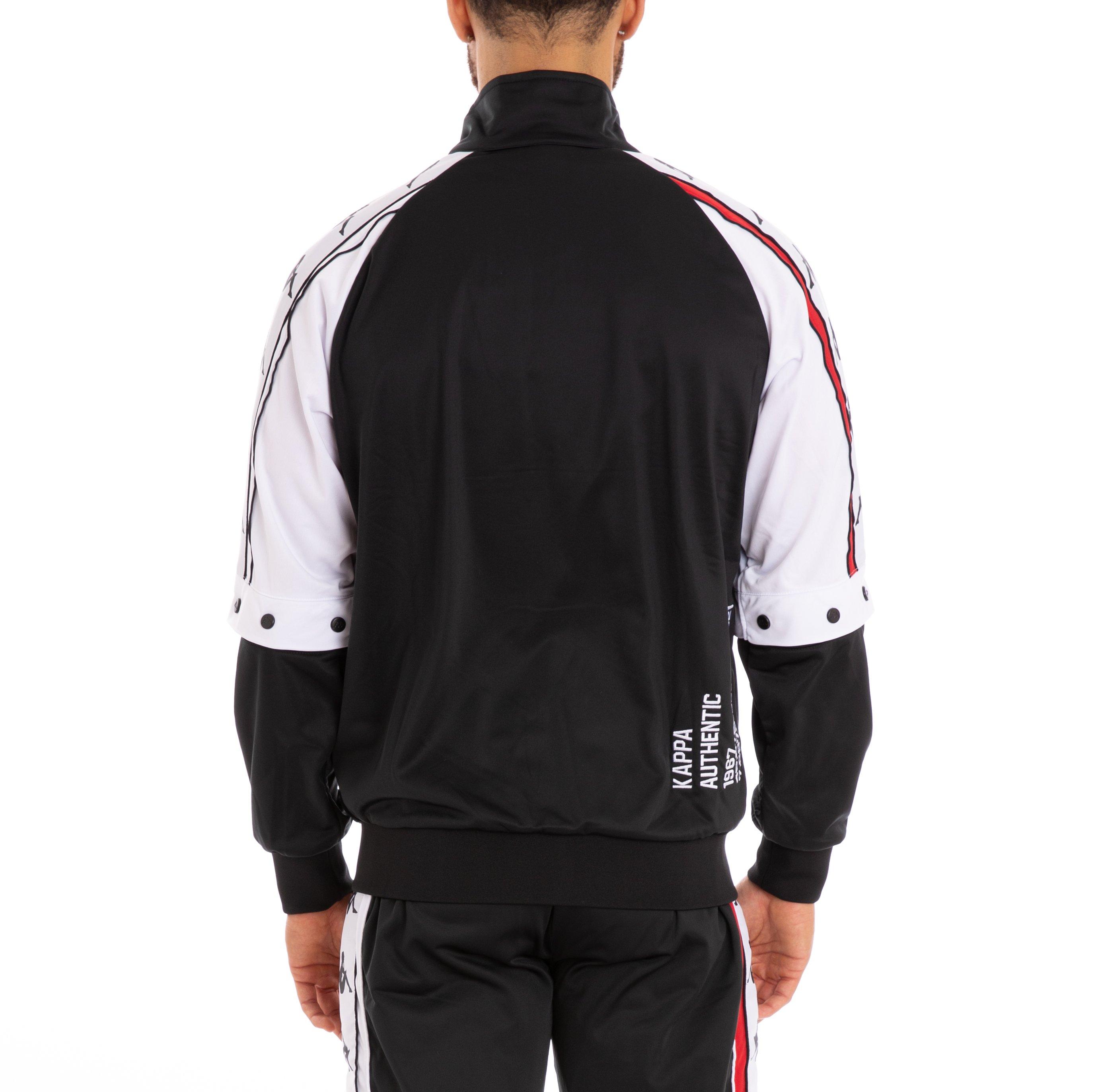 c575e9050 Kappa - Authentic Bafer Zip up - Black/ White-Red