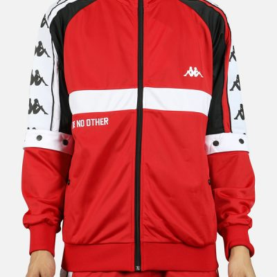 Kappa – Authentic Bafer Zip up – Red/White