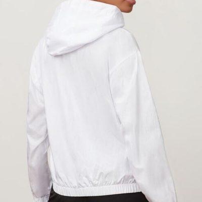 Fila – Jana 1/4 Zip Jacket – White