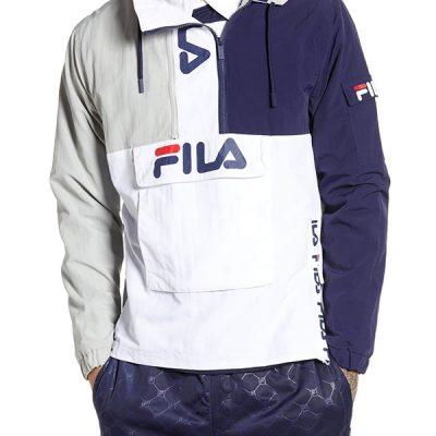 Fila – Parallax Jacket – Grey/Navy/White