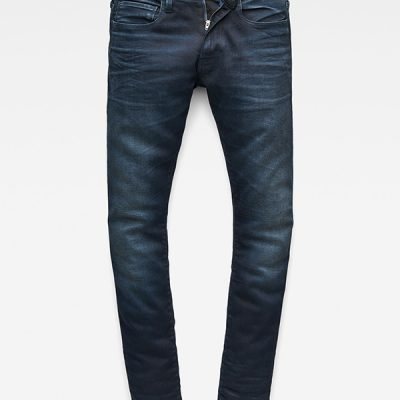 G Star RAW – 3301 Deconstructed Denim – DK blue