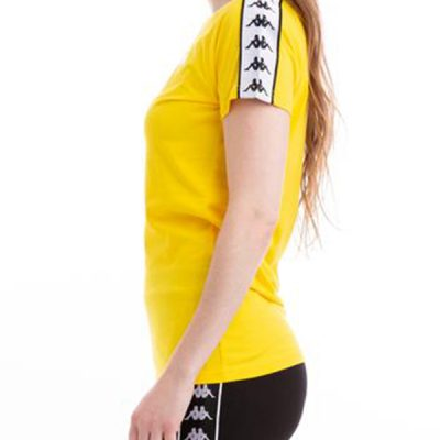 Kappa – Woen Alternate Anniston Tee – Yellow