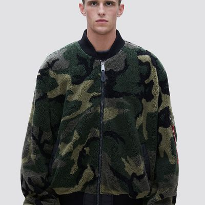 Alpha Industries – L-2B Sherpa Loose Flight Jacket – Camo