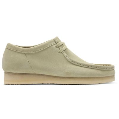 Clarks – Wallabee Lo – Tan Suede