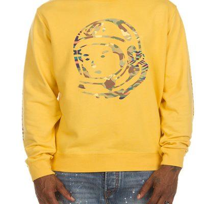 Billionaire Boys Club – Camo Helmet Crew – Yellow