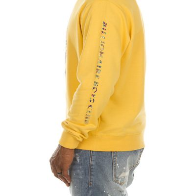 Billionaire Boys Club – Camo Helmet Crew – Yellow