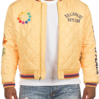 Billionaire Boys Club – Inner Piece Jacket – Yellow
