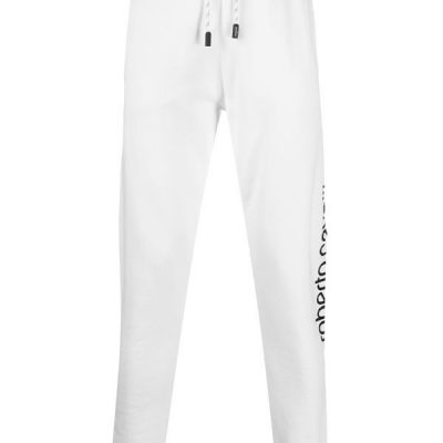 Roberto Cavalli – Rubberised Logo Sweat Pant