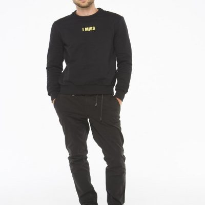Eleven Paris – Nitney Crewneck – Black