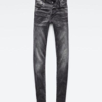 G Star RAW – 3301 Slim Denim – Charcoal