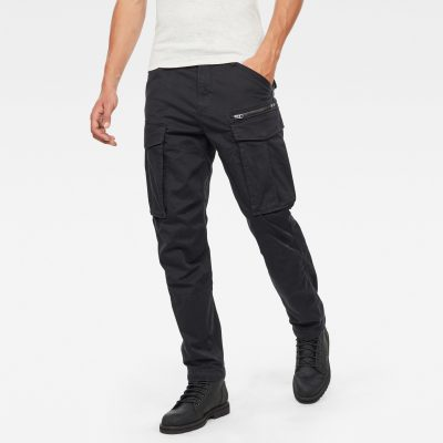 G Star RAW – Rovic Zip 3D Tapered – Black